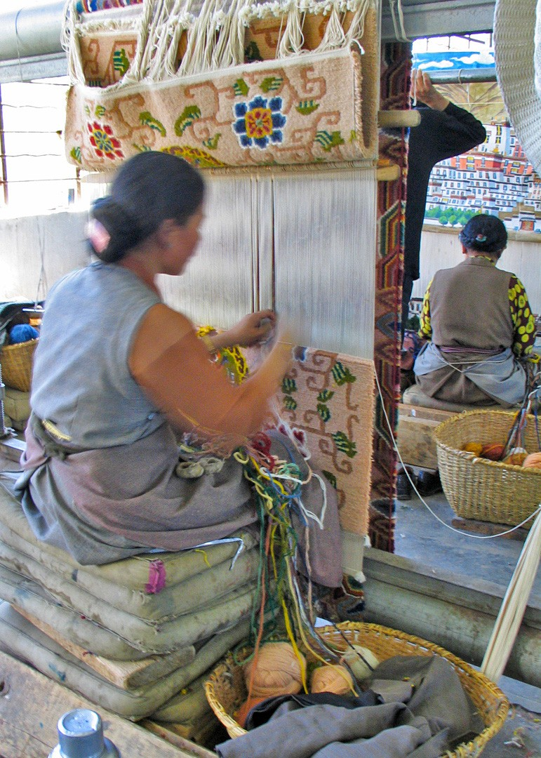 tibet_fabrique_de_tapis_tibetains