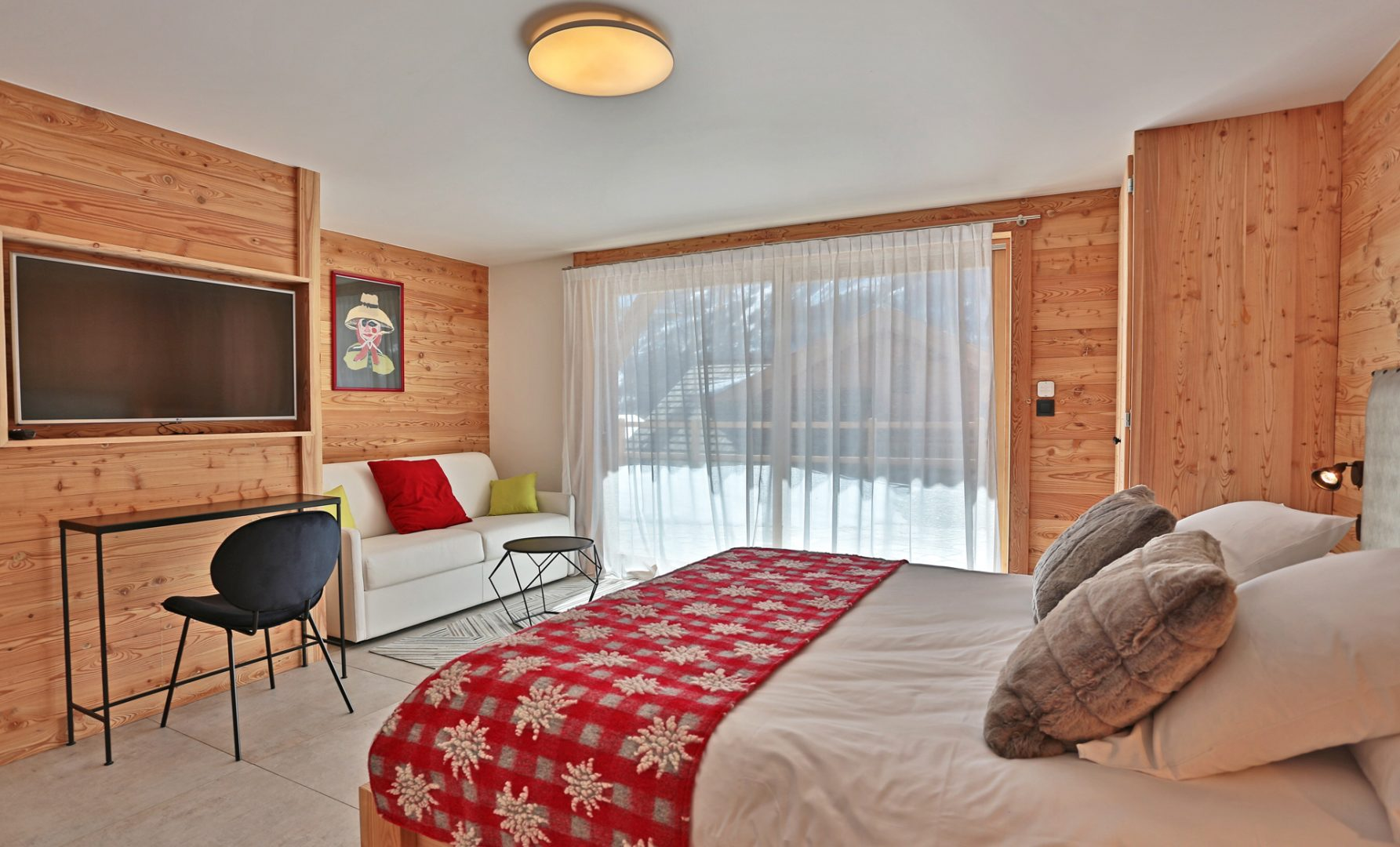 Chalet - Chambre avec sallon