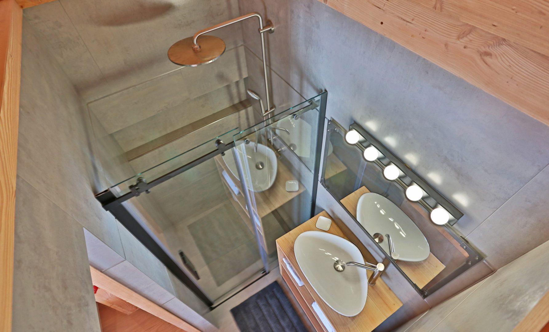 Chalet salle de bains