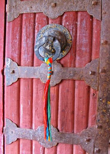 tibet_porte_d_une_celulle_de_moine