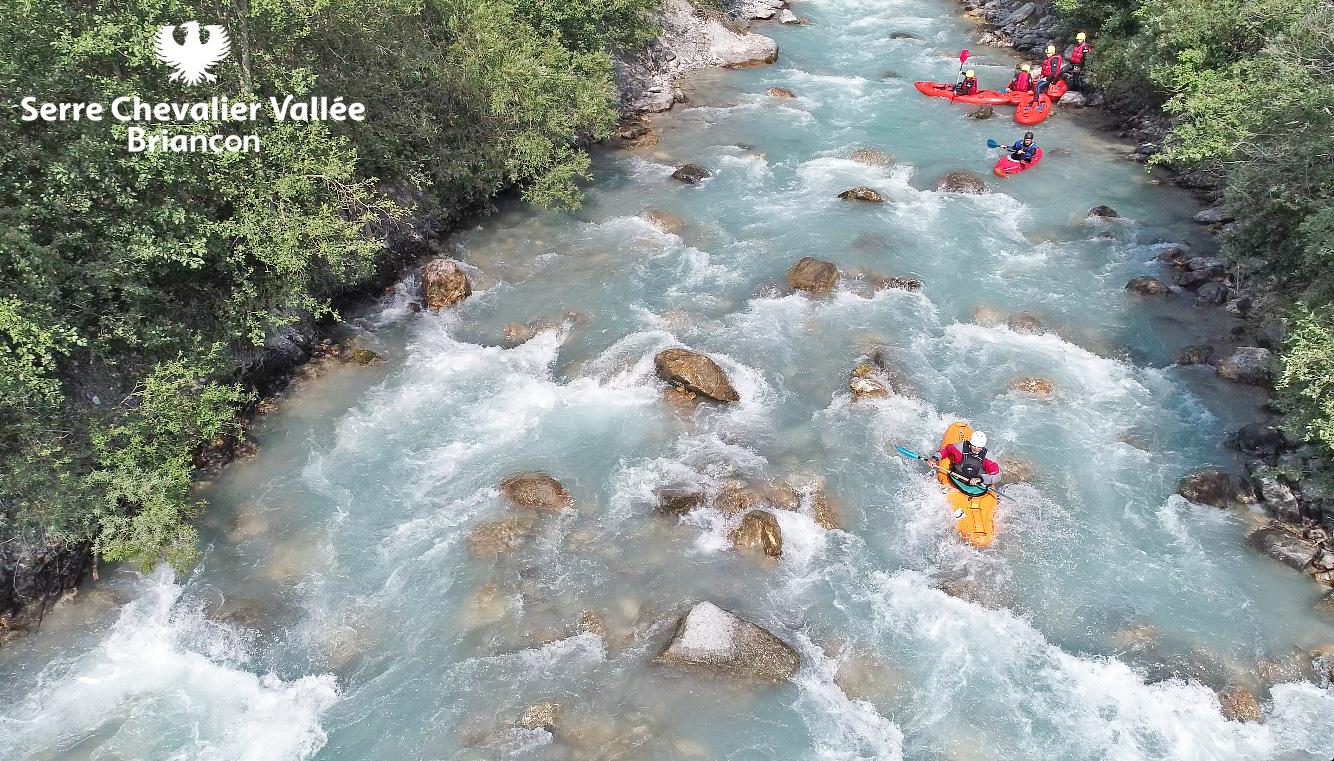 Canoe_sur_la_Guisane_Brianconnais_Hautes-Alpes