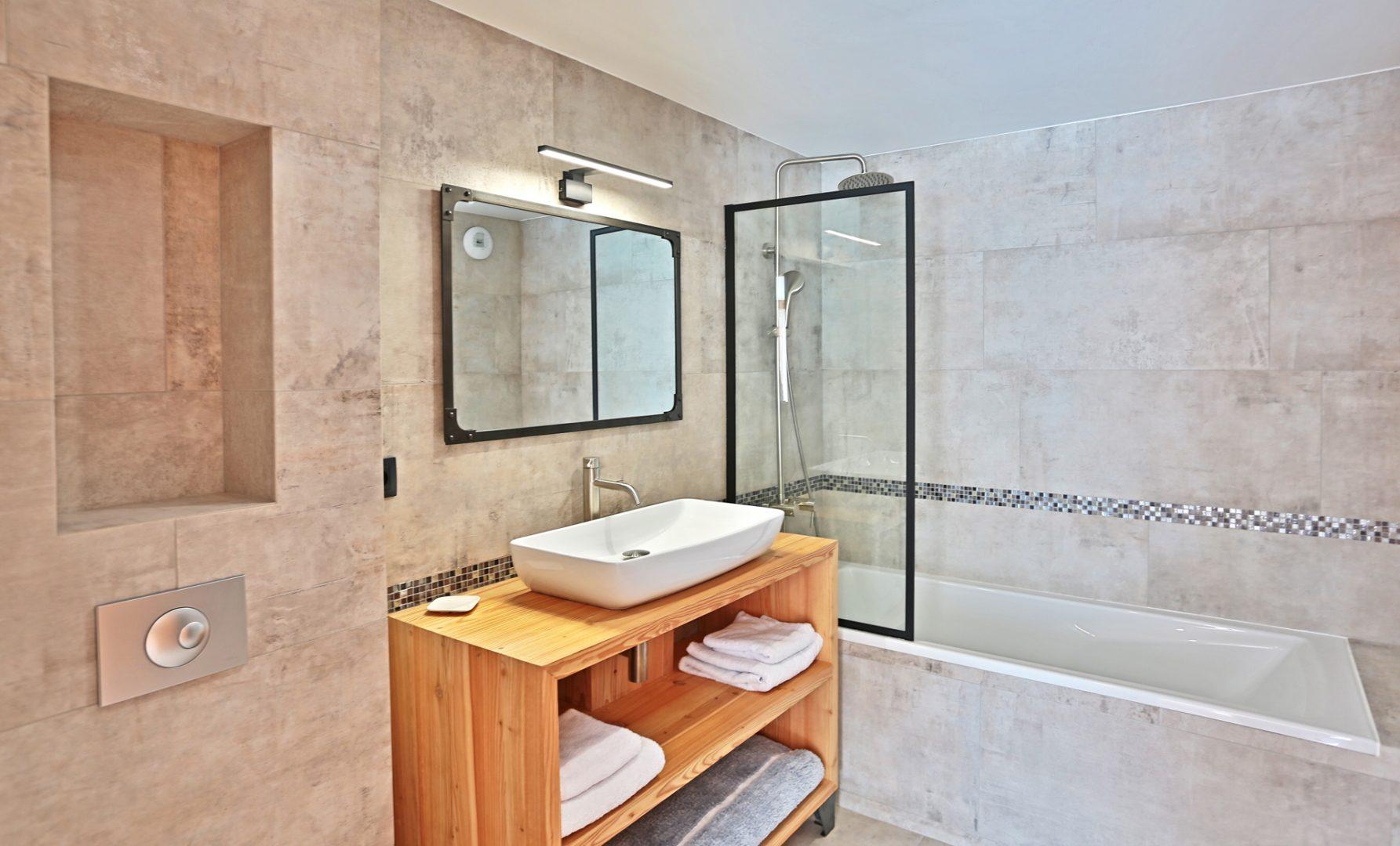 Chalet - salle de bains